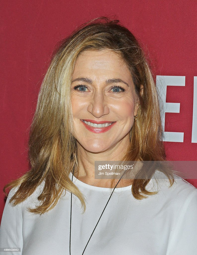 Actress Edie Falco attends the ONE And (RED)'s 'It Always Seems Impossible Until It Is Done' at Carnegie Hall on December 1, 2015 in New York City.