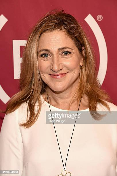 Actress Edie Falco attends the ONE Campaign and 's It Always Seems Impossible Until It Is Done 10th anniversary celebration at Carnegie Hall on...