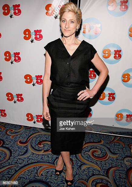 Actress Edie Falco attends the opening of 9 to 5 The Musical on Broadway at the Marriott Marquis Theatre on April 30 2009 in New York City