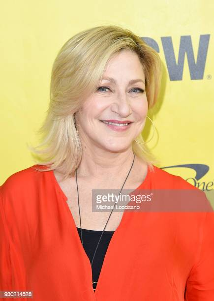 Actress Edie Falco attends the Outside In premiere during the 2018 SXSW Conference and Festivals at the ZACH Theatre on March 10 2018 in Austin Texas