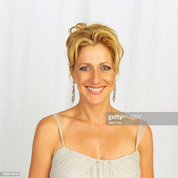 Actress Edie Falco is photographed for Emmy Magazine at the 55th Annual Emmy Awards on September 21 2003 in Los Angeles California