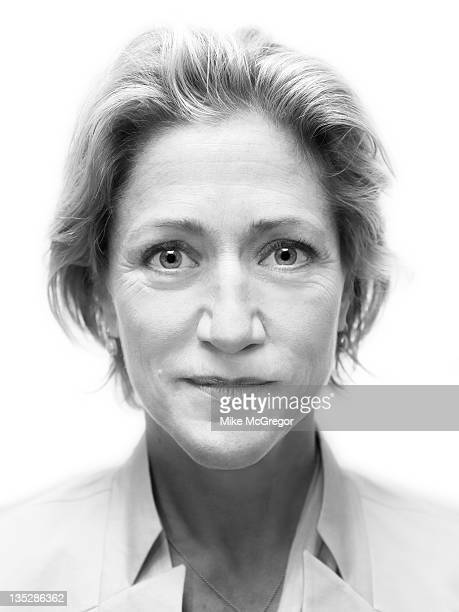 Actress Edie Falco is photographed for Self Assignment on September 11 2011 in New York City