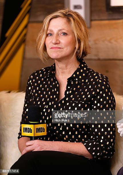 Actress Edie Falco of 'Landline' attends The IMDb Studio featuring the Filmmaker Discovery Lounge presented by Amazon Video Direct Day Four during...