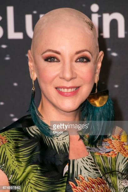 Actress Edith Gonzalez poses during the 13th Luminus Awards at Telcel Theater on April 27 2017 in Mexico City Mexico