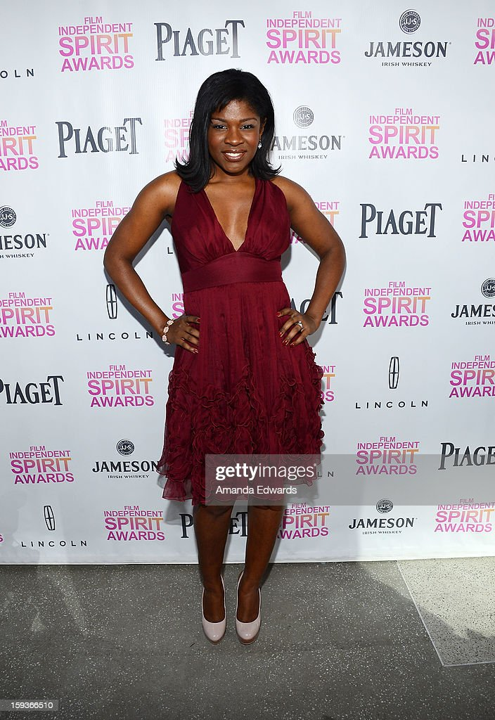 Actress Edwina Findley arrives at the 2013 Film Independent Filmmaker Grant And Spirit Awards Nominees Brunch at BOA Steakhouse on January 12, 2013 in West Hollywood, California.