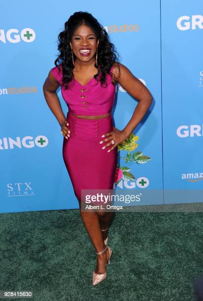 Actress Edwina Findley arrives for the Premiere Of Amazon Studios And STX Films' 'Gringo' held at Regal LA Live Stadium 14 on March 6 2018 in Los...