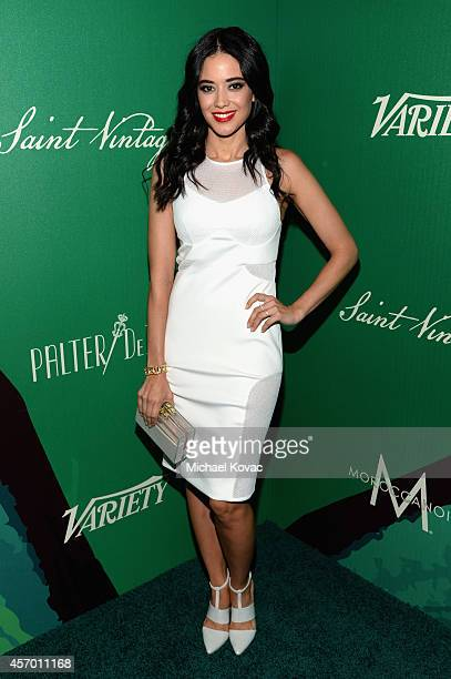 Actress Edy Ganem attends the 2014 Variety Power of Women presented by Lifetime at Beverly Wilshire Four Seasons on October 10 2014 in Los Angeles...