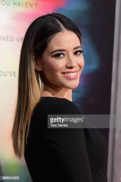 Actress Edy Ganem attends the premiere of Columbia Pictures' 'Flatliners' at The Theatre at Ace Hotel on September 27 2017 in Los Angeles California