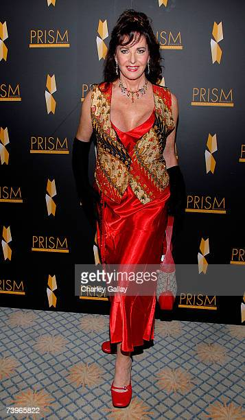 Actress Edy Williams arrives to the 11th annual PRISM Awards at the Beverly Hills Hotel April 24 2007 in Beverly Hills California