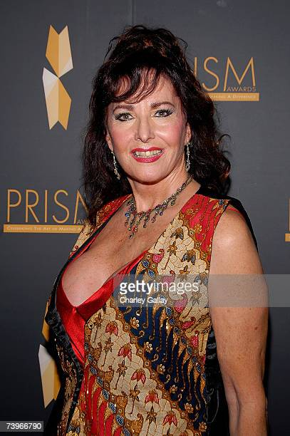 Actress Edy Williams arrives to the 11th annual PRISM Awards at the Beverly Hills Hotel on April 24 2007 in Beverly Hills California