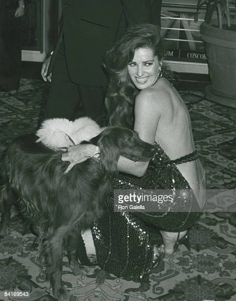 Actress Edy Williams attending 39th Annual Golden Globe Awards on January 30 1982 at the Beverly Hills Hotel in Beverly Hills California