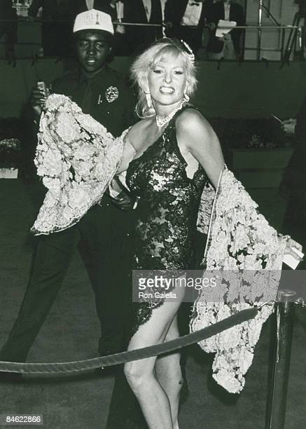 Actress Edy Williams attending 61st Annual Academy Awards on March 29 1989 at the Shrine Auditorium in Los Angeles California