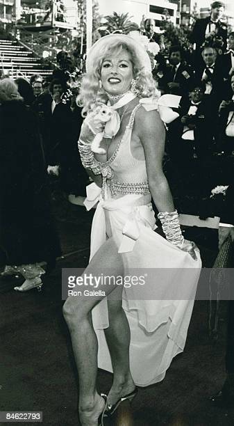 Actress Edy Williams attending 63rd Annual Academy Awards on March 25 1991 at the Shrine Auditorium in Los Angeles California