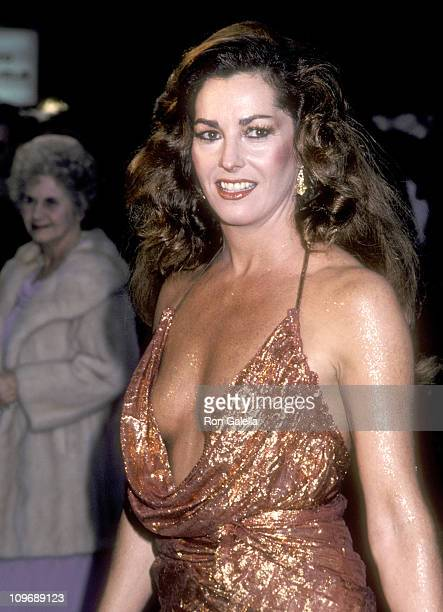Actress Edy Williams attends the 53rd Annual Academy Awards on March 31 1981 at Dorothy Chandler Pavilion in Los Angeles California