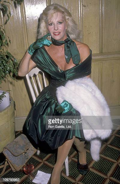 Actress Edy Williams attends The United Negro College Fund's KickOff Party for the Ninth Annual Lou Rawls Parade of Stars Telethon on November 21...