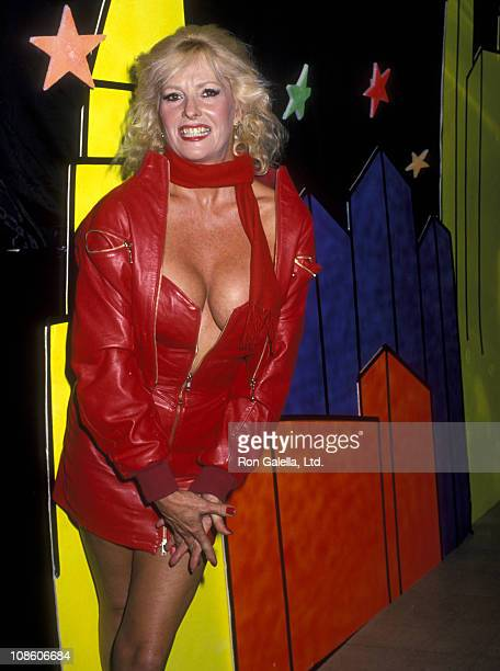 Actress Edy Williams on December 7 1988 sighting at 20/20 Club in Century City California