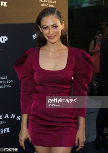 Actress Efrat Dor attends the premiere of FX's 'Mayans MC' Season 2 at ArcLight Cinerama Dome on August 27 2019 in Hollywood California