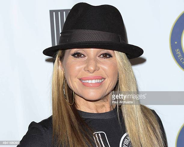 Actress EG Daily attends the Last Chance For Animals Benefit Gala at The Beverly Hilton Hotel on October 24 2015 in Beverly Hills California