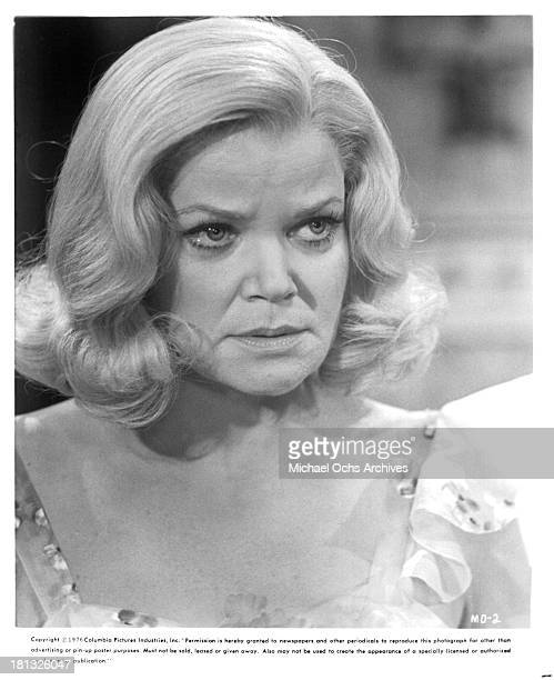 Actress Eileen Brennan on the set of Columbia Pictures movie Murder by Death in 1976