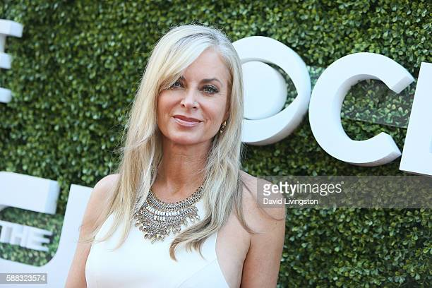 Actress Eileen Davidson arrives at the CBS CW Showtime Summer TCA Party at the Pacific Design Center on August 10 2016 in West Hollywood California