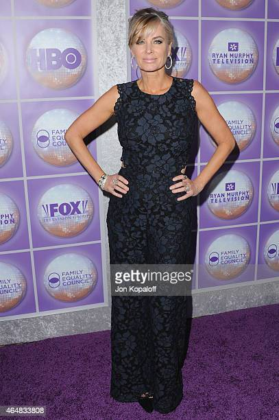 Actress Eileen Davidson arrives at the Family Equality Council's Los Angeles Awards Dinner at The Beverly Hilton Hotel on February 28 2015 in Beverly...
