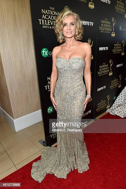 Actress Eileen Davidson attends The 41st Annual Daytime Emmy Awards at The Beverly Hilton Hotel on June 22 2014 in Beverly Hills California