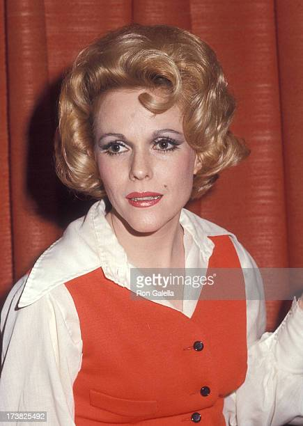 Actress Eileen Fulton attends her opening night singing engagement on March 6 1973 at Quiet Village in Hempstead Long Island New York