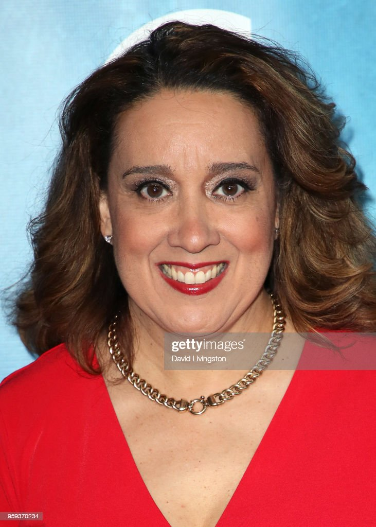 Actress Eileen Galindo attends the opening night of 'Soft Power' presented by the Center Theatre Group at the Ahmanson Theatre on May 16, 2018 in Los Angeles, California.