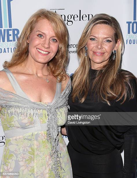 Actress Eileen Grubba and actress/producer Christina Simpkins attend Tower Cancer Research Foundation's Tower of Hope Gala at The Beverly Hilton...
