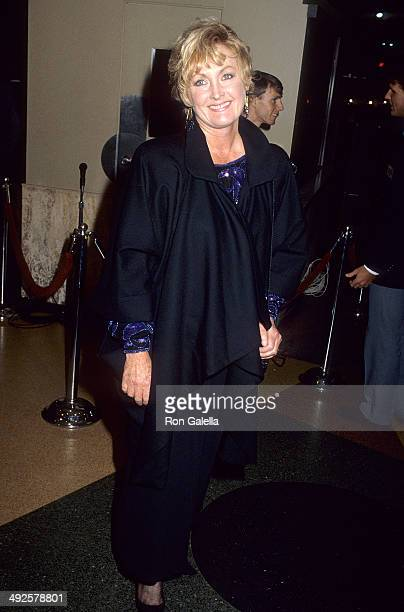 Actress Eileen Ryan attends the At Close Range Westwood Premiere on April 17 1986 at the Mann Bruin Theatre in Westwood California