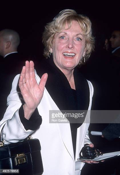 Actress Eileen Ryan attends the I Am Sam Beverly Hills Premiere on December 3 2001 at the Academy of Motion Picture Arts Sciences in Beverly Hills...