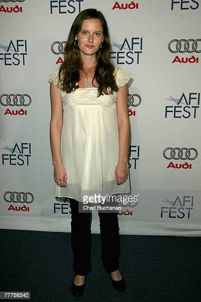 Actress Eireann Harper attends the AFI FEST 2007 presented by Audi held at the Rooftop Village at ArcLight Cinemas on November 6 2007 in Hollywood...