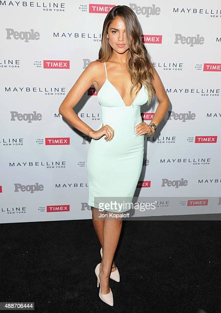 Actress Eiza Gonzalez arrives at People's 'Ones To Watch' Event at Ysabel on September 16 2015 in West Hollywood California