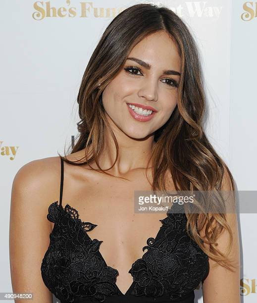 Actress Eiza Gonzalez arrives at the Los Angeles Premiere 'She's Funny That Way' at Harmony Gold on August 19 2015 in Los Angeles California