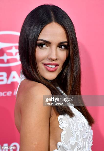 Actress Eiza Gonzalez arrives at the Premiere of Sony Pictures' Baby Driver at Ace Hotel on June 14 2017 in Los Angeles California