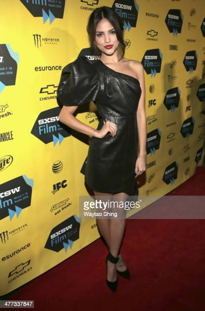 Actress Eiza Gonzalez at 'From Dusk Till Dawn The Series' Pilot Photo Op and QA during the 2014 SXSW Music Film Interactive Festival at Austin...