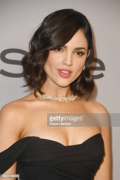 Actress Eiza Gonzalez attends 19th Annual PostGolden Globes Party hosted by Warner Bros Pictures and InStyle at The Beverly Hilton Hotel on January 7...