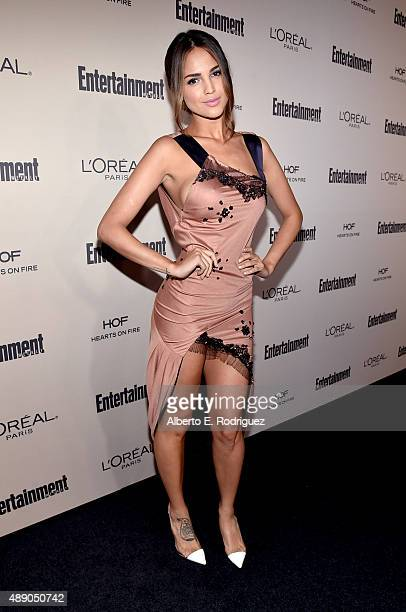 Actress Eiza Gonzalez attends the 2015 Entertainment Weekly PreEmmy Party at Fig Olive Melrose Place on September 18 2015 in West Hollywood California