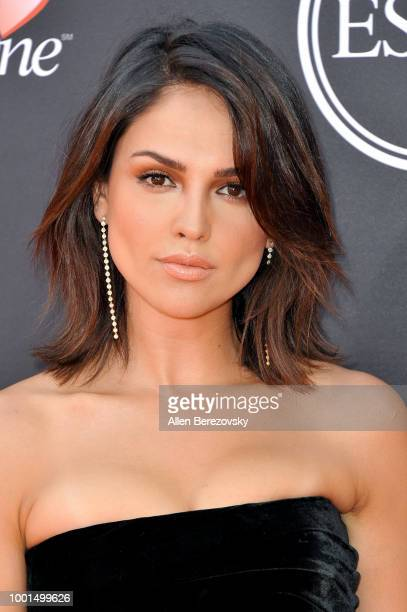 Actress Eiza Gonzalez attends The 2018 ESPYS at Microsoft Theater on July 18 2018 in Los Angeles California