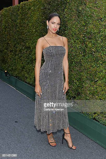 Actress Eiza Gonzalez attends the MOCA Gala 2016 at The Geffen Contemporary at MOCA on May 14 2016 in Los Angeles California