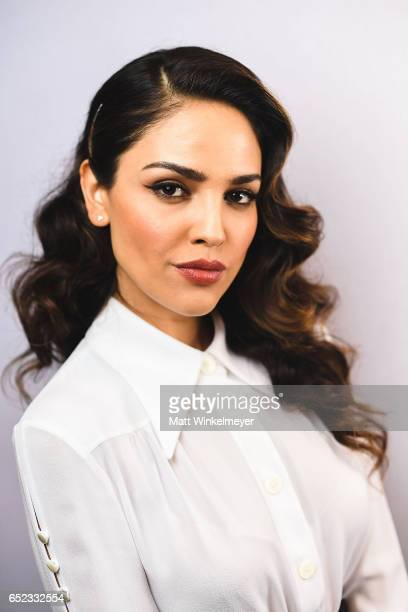 Actress Eiza Gonzalez poses for a portrait during the 'Baby Driver' premiere 2017 SXSW Conference and Festivals on March 11 2017 in Austin Texas