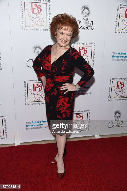Actress Elaine DuPont arrives at the 30th Annual Gypsy Awards Luncheon at The Beverly Hilton Hotel on April 23 2017 in Beverly Hills California
