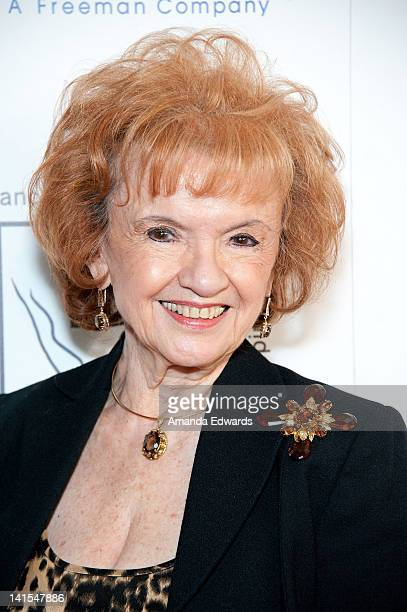 Actress Elaine DuPont arrives at the Professional Dancers Society Presents Gypsy Award To Julie Andrews at The Beverly Hilton Hotel on March 18 2012...