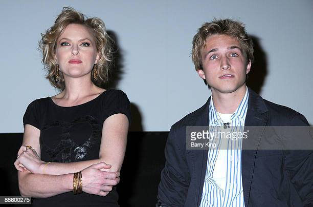 Actress Elaine Hendrix and actor Shayne Topp attend the 2009 Los Angeles Film Festival Netflix Private Dear Lemon Lima Screening and QA held at the...