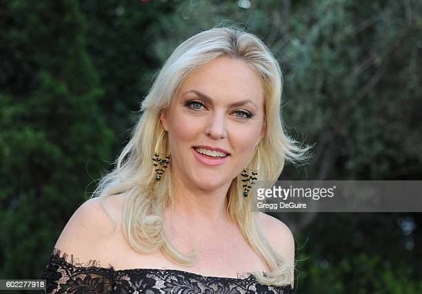 Actress Elaine Hendrix arrives at Mercy For Animals Hidden Heroes Gala 2016 at Vibiana on September 10 2016 in Los Angeles California