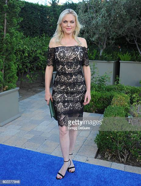 Actress Elaine Hendrix arrives at Mercy For Animals Hidden Heroes Gala 2016 at Vibiana on September 10, 2016 in Los Angeles, California.