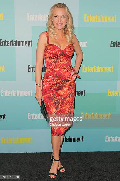 Actress Elaine Hendrix arrives at the Entertainment Weekly celebration at Float at Hard Rock Hotel San Diego on July 11, 2015 in San Diego,...