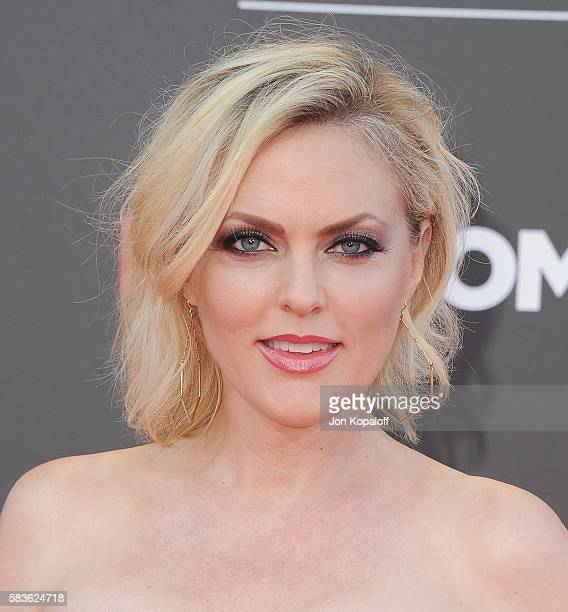 Actress Elaine Hendrix arrives at the Los Angeles Premiere Bad Moms at Mann Village Theatre on July 26 2016 in Westwood California