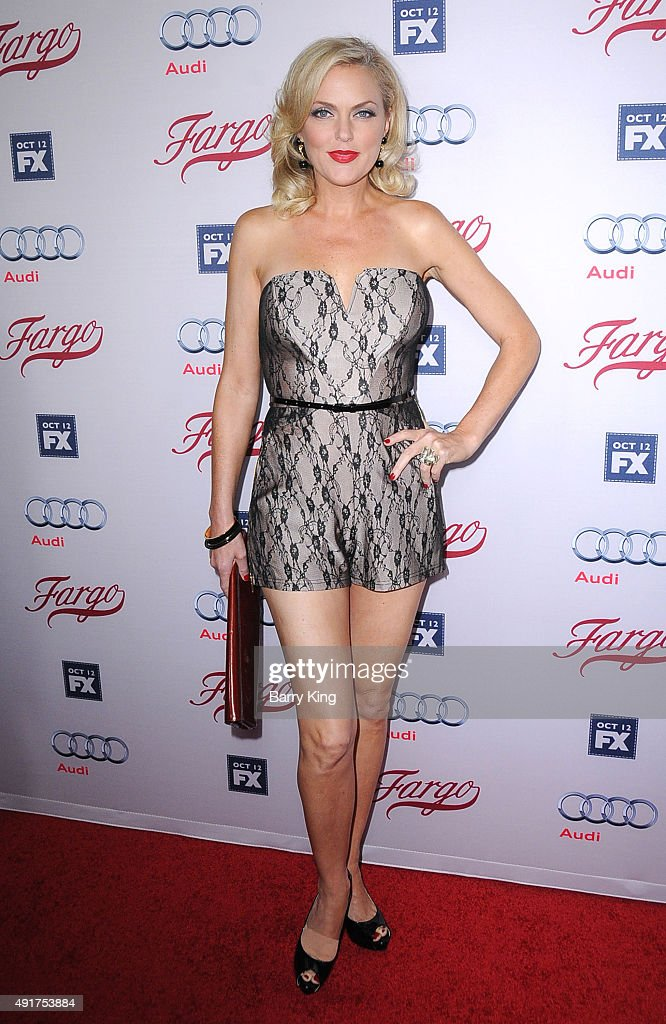 Actress Elaine Hendrix attends the premiere screening of