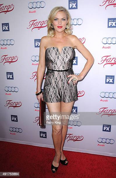 Actress Elaine Hendrix arrives at the Premiere Of FX's 'Fargo' season 2 at ArcLight Cinemas on October 7, 2015 in Hollywood, California.